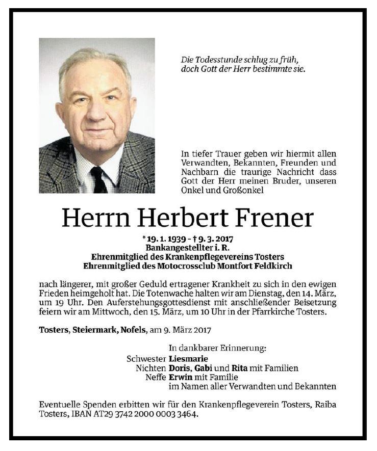 herbert_frener_todesanzeige